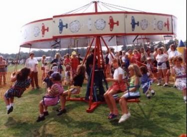 Kiddies fun fair ride
