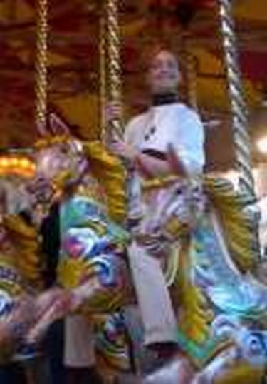 Ride the horses on this traditional fun fair ride for all the family
