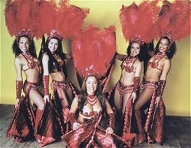Latin american carnival show