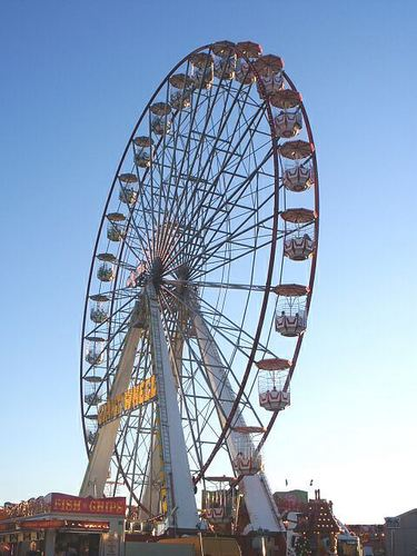 Fun fair ride for all the family