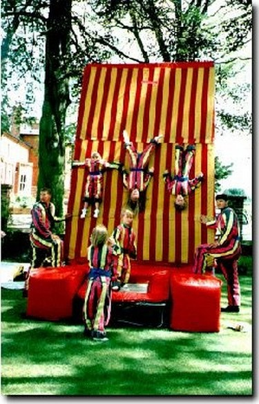 Stick around and hang on to the velcro wall