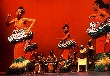 Dance company present a kaleidoscope of traditional African dance and drumming