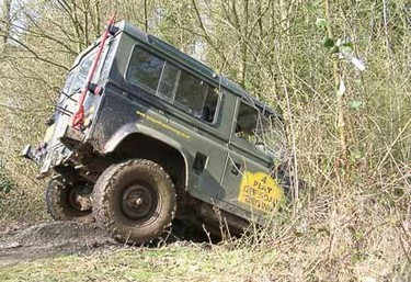 Recreational 4x4 Driving course