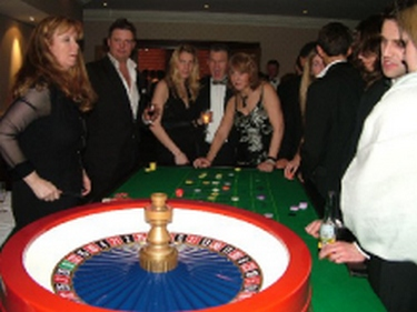 Using professional croupiers and real Casino-style equipment.