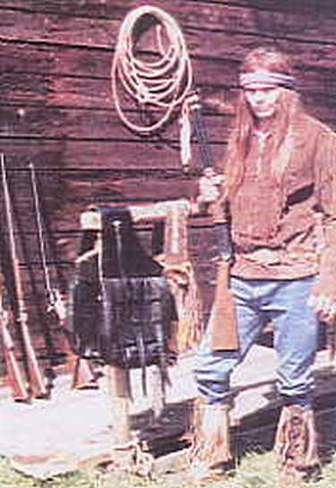 Gun toting, bull whipping, rope spinning cowboys and indians