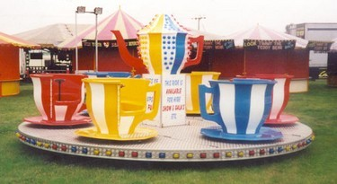 Merry go round style fairground attraction, very popular with younger children.