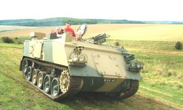 Armoured personnel carrier activities are the experience of a life time