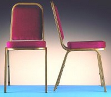 Banqueting chairs have moved on from the tacky type that everyone hired out.