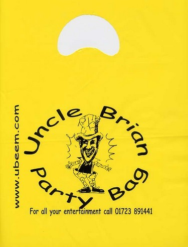 Uncle Brian's Empty Party Bags