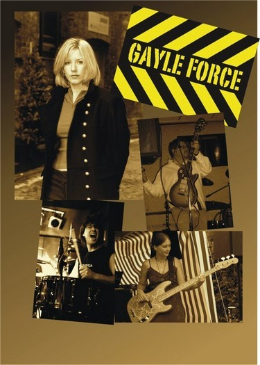 Four-piece band fronted by the amazing vocal talents of  Gayle
