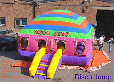 Inflatable discotheque
