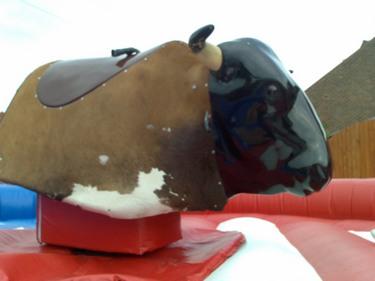 Mechanical Bull Rodeo is a bull ride simulator