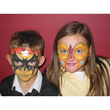 Expert face painting in West Yorkshire