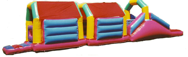 Bouncy Assault Course 12 feet wide by 50 feet long