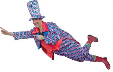 Patriotic children's entertainer