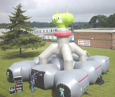 Inflatable Hangar 51 Laser Game System